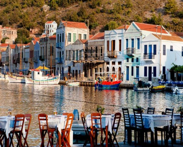 puerto de Kastellorizo Grecia
