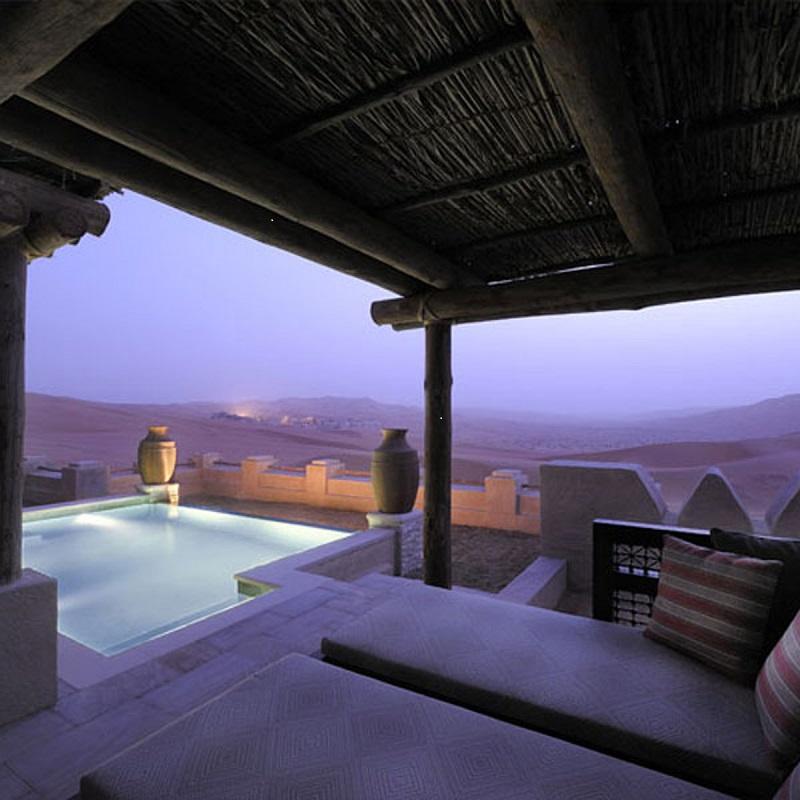 Desierto y lujo