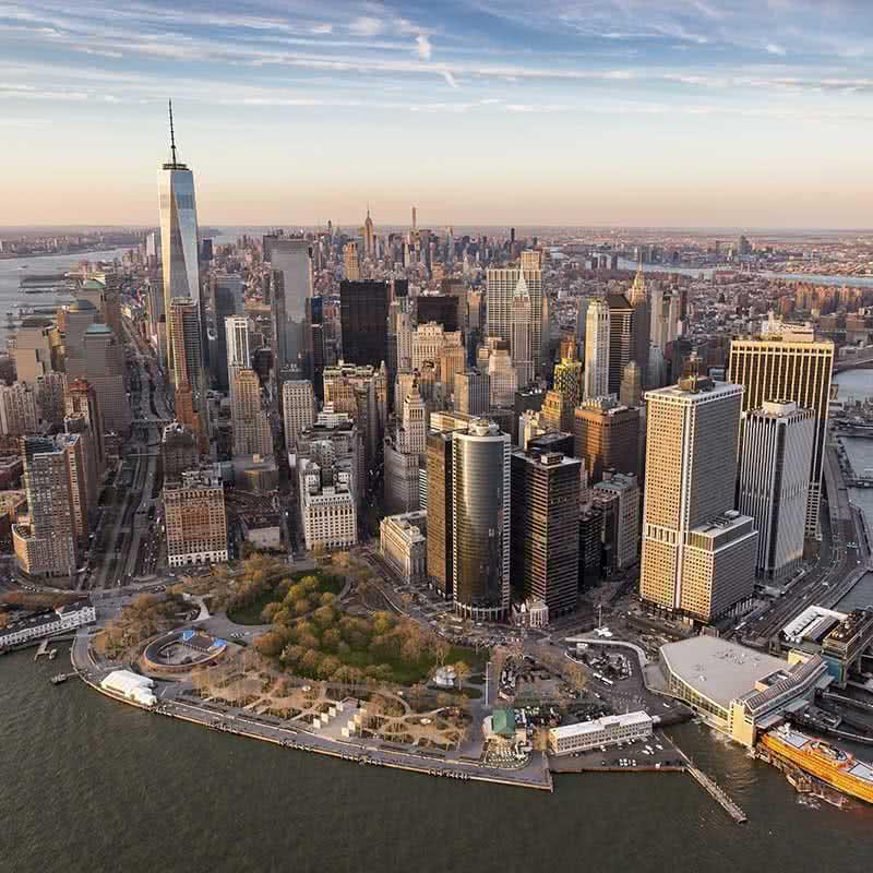 vistas desde Helicoptero en NY
