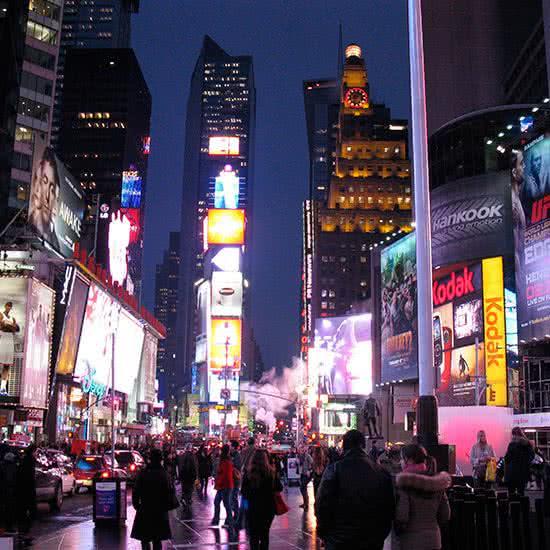 Nueva York de noche