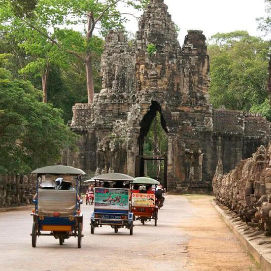tour en privado a los templos de Angkor.
