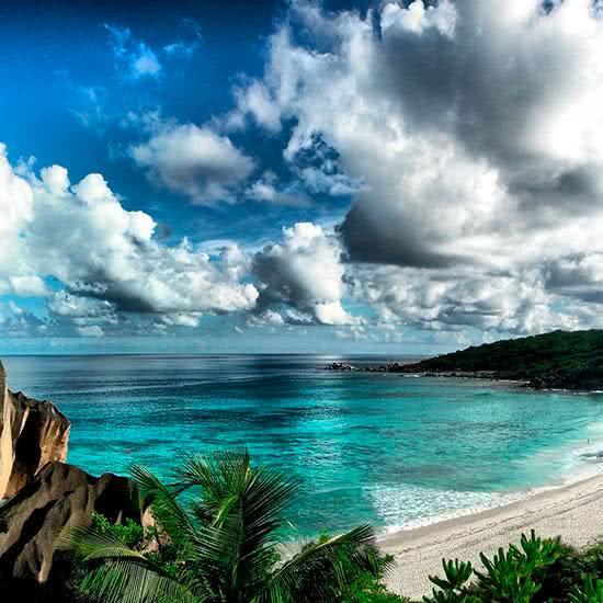 Tres Islas en seychelles