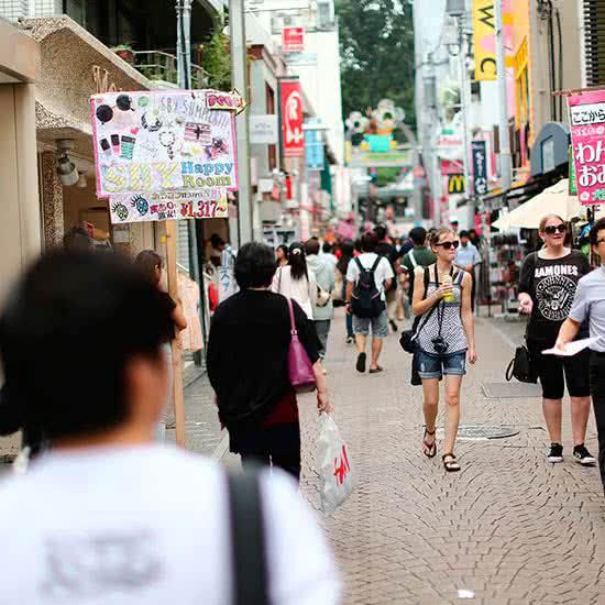 Barrios y calles de japon