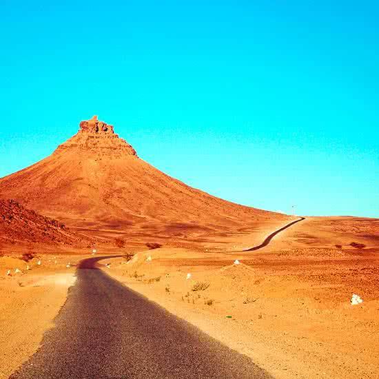 Carretera en marruecos
