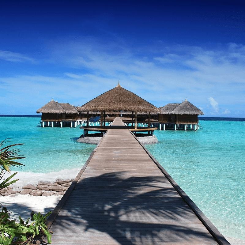 paraiso en Maldivas