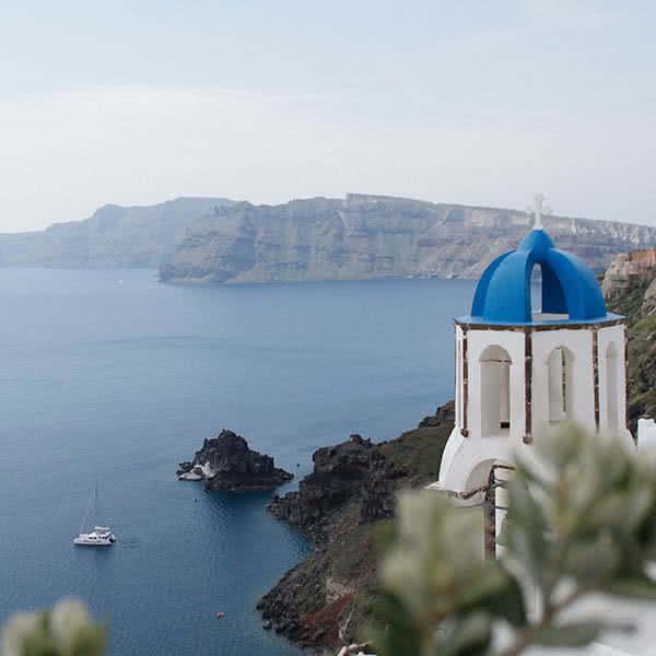 Santorini Atenas e Hydra