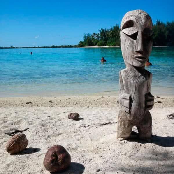 Costa Oeste con Polinesia Francesa