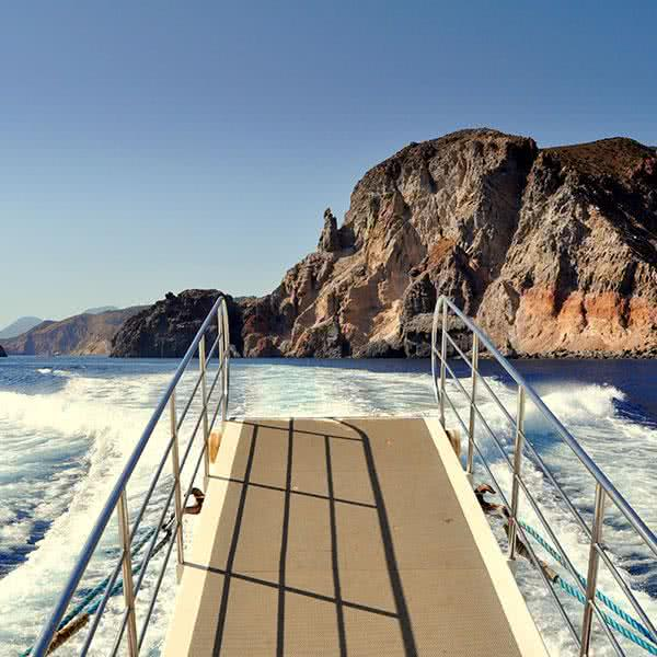 navegando en Pantelleria