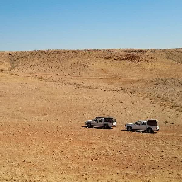 ruta en 4x4 por el desierto