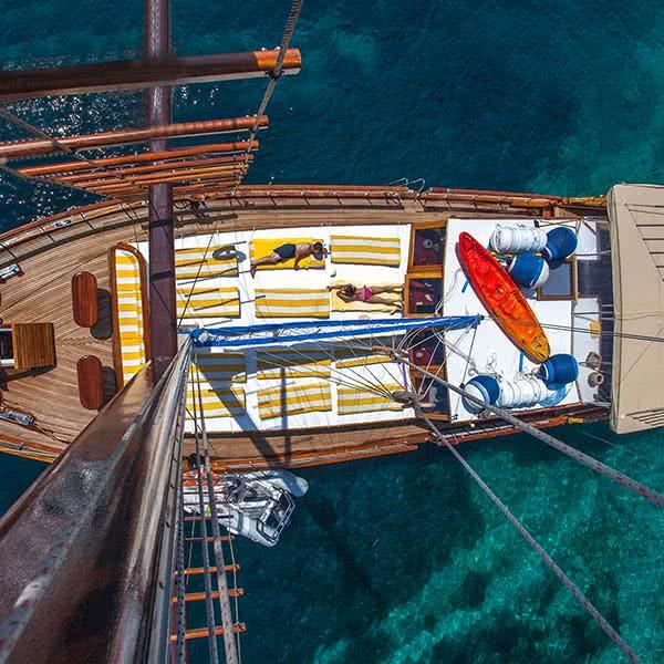islas griegas velero