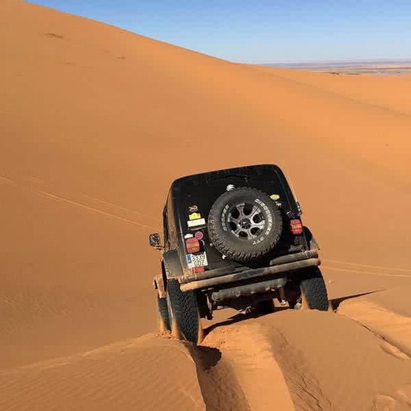 4x4 tour en el desierto de Merzouga