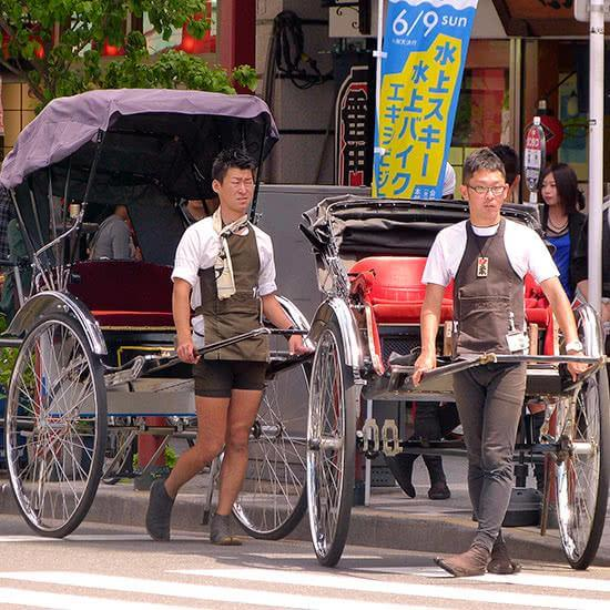el transporte en japon