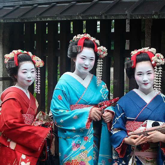 Gehisas en Japon