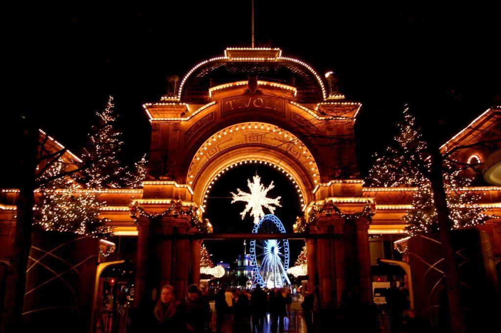 Entrada al Parque de atracciones Tivoli