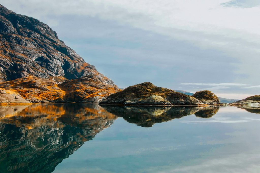 Detalle lago Isla de Skye