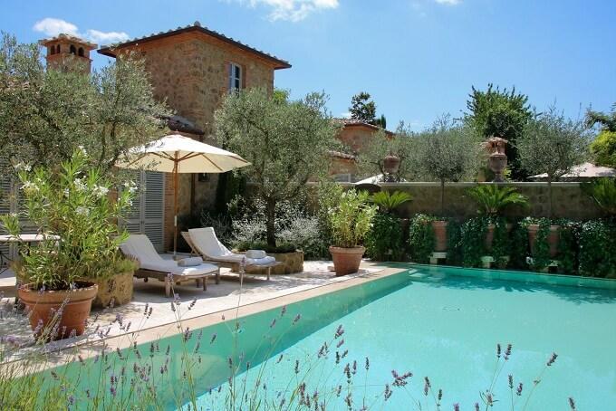 semana santa Toscana Villa de lujo con piscina en Toscana