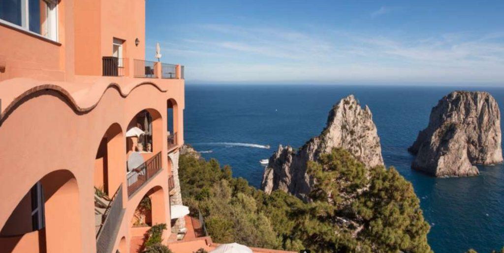 Hotel Punta Tragara, isla de Capri