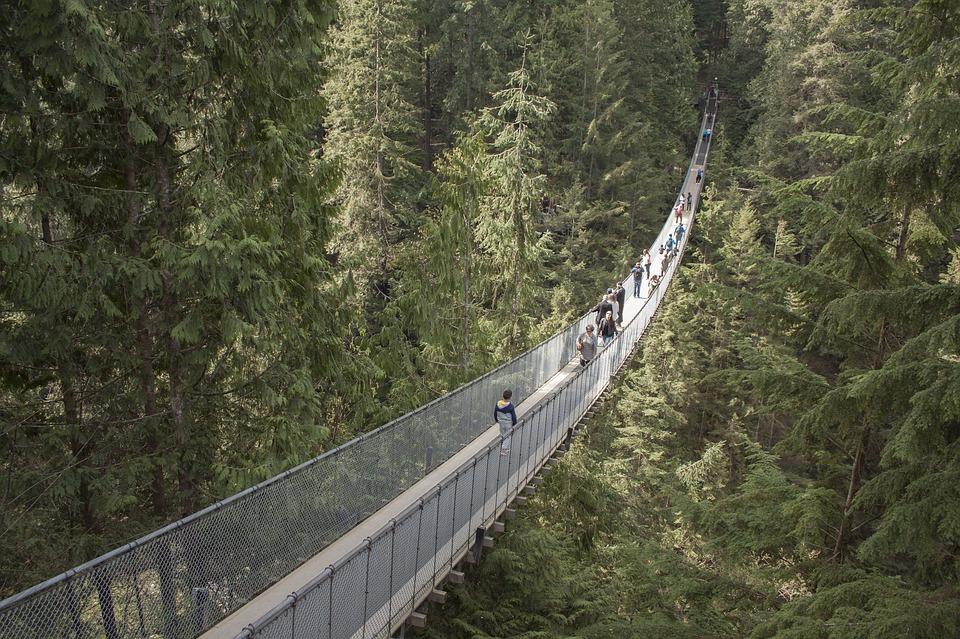 Capilano puente vancouver canada