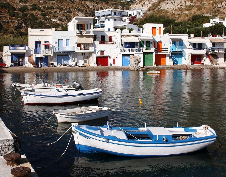 Santorini Milos y Atenas