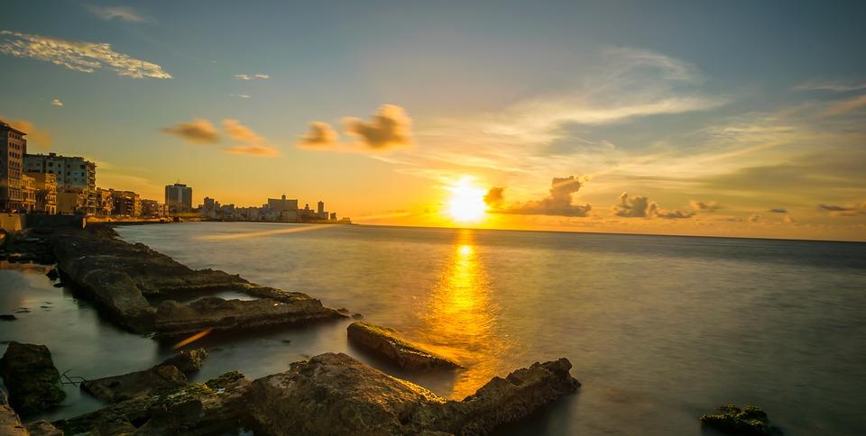 puesta de sol la Habana