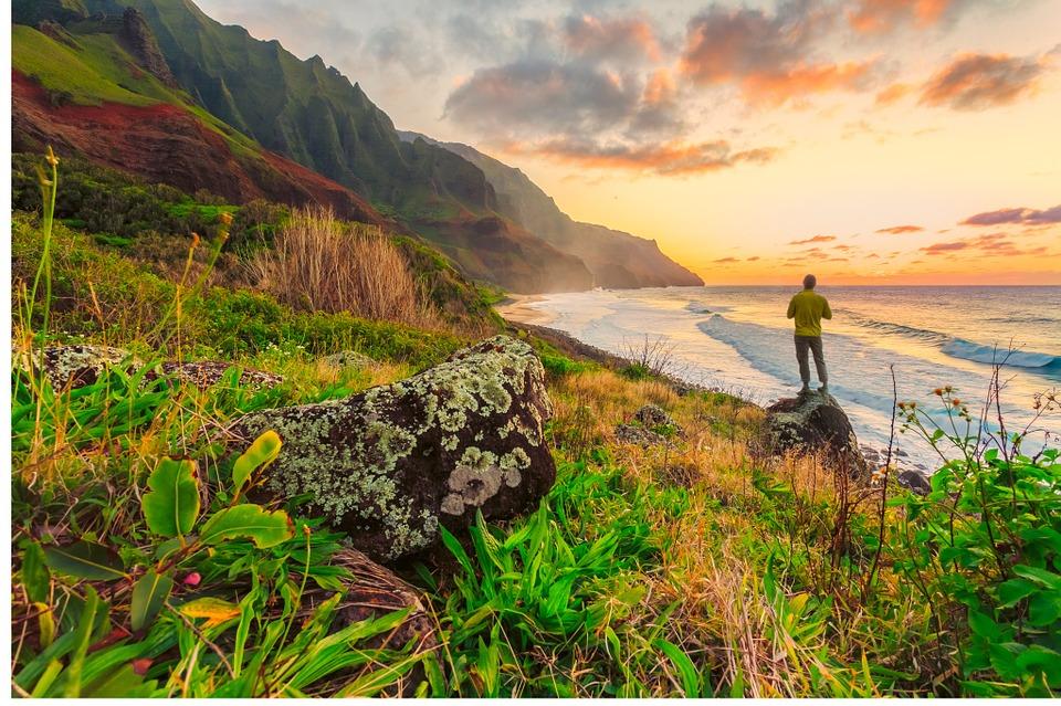vistas en la isla de Hawaii