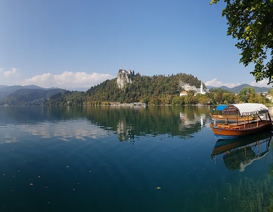 panoramica lago bled