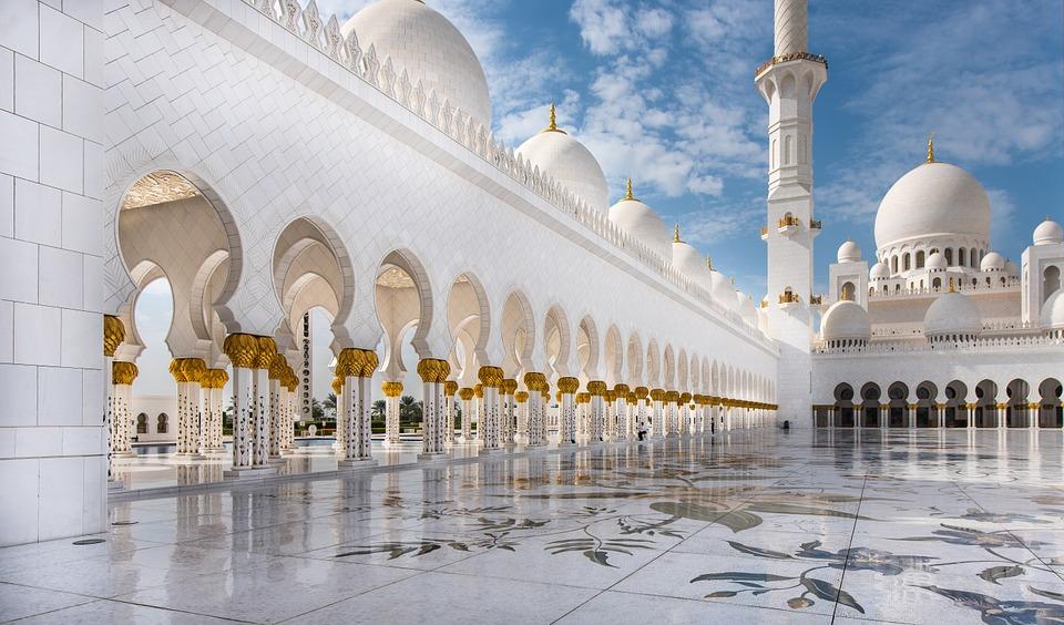 Mezquita Blanca Abu Dhabi