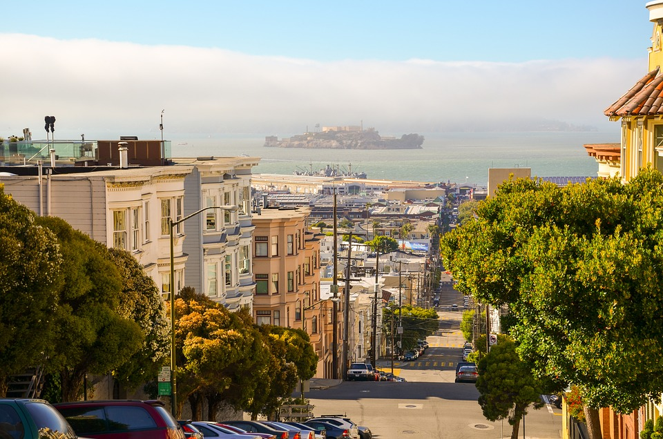 Nob Hill y Alcatraz