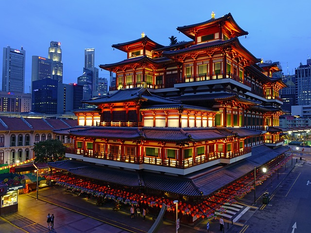 visitas en Singapur