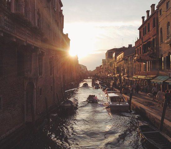 Gran Canal en venecia italia