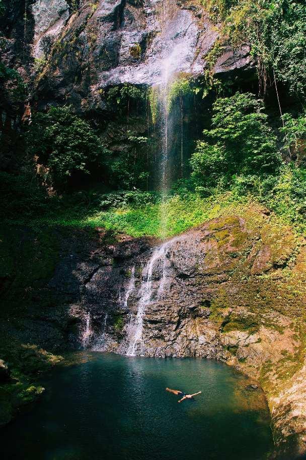 Cascadas de Sao tome y Principe