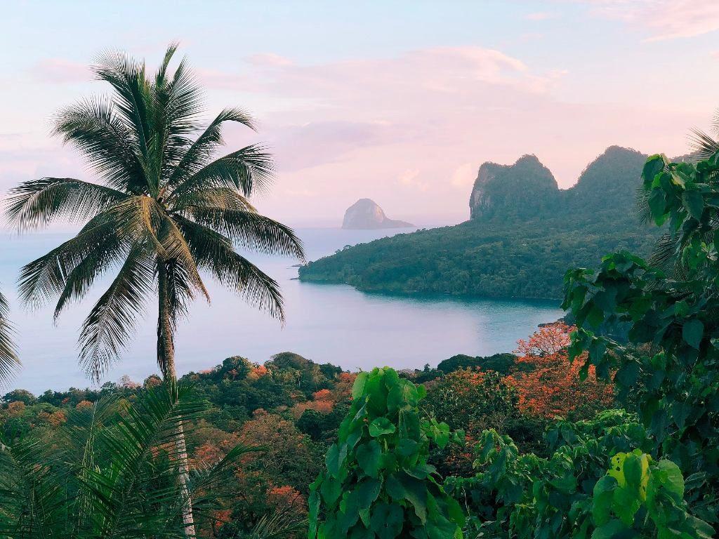 Vistas desde Principe  Santo Tomé y Príncipe
