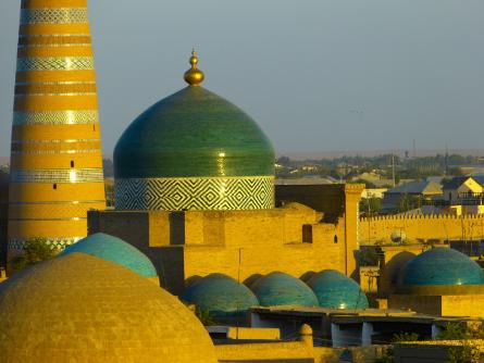 semana santa Khiva Mausoleo