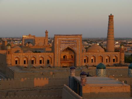 Khiva viaje aventura Uzbekistan
