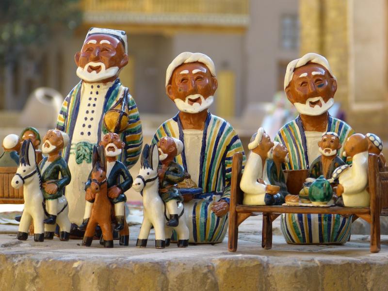 semana santa ceramica uzbekistan RUTA DE LA SEDA
