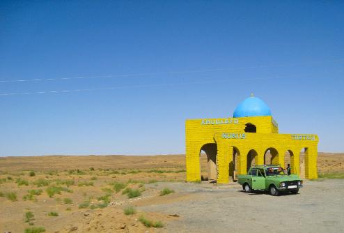 Nukus viaje aventura Uzbekistan